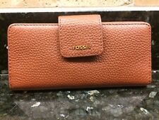 Fossil continental  purse / wallet ladies long purse leather