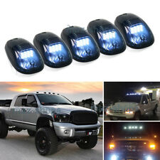 5Pcs 264146BK Smoke Lens White LED Cab Marker Light Lamp For 2003-2010 Dodge Ram