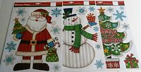 Christmas Window Clings Assortment  #2  {Your Choice}
