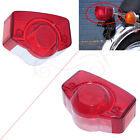 Motorcycle Red Rear Tail Light Taillight Lens Cover For Honda CT90 CB750 CL100
