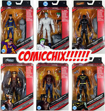 "DC Multiverse 6"" WAVE 5 ACTION FIGURE SET ~ Batgirl, Joker, Zoom+++ & King Shark"
