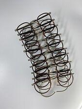 Lunette Frame Ancienne Old Vintage Eyeglasses Round French Gold Filled Or Pantos