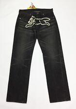 billionaire boys club jeans uomo nuovo w34 tg 48 gamba dritta boyfriend T3535