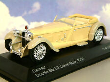 ESTUPENDO WHITEBOX DE METAL 1/43 1931 DAIMLER DOBLE SEIS 50 CONVERTIBLE BEIGE