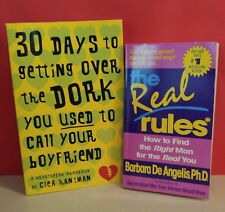 """""""The Real Rules:How to Find Right Man...."""" & """"30 Days Getting Over  the Dork"""""""