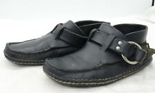 CARL DYER Handmade USA 'Ring Boot' Buffalo Hide Ankle Moccasins Mocs Mens Sz 9