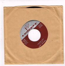 Cadence 1370 ANDY WILLIAMS Lonely Street / Summer Love 45 7 inch E