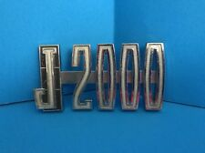 OEM Used 1968-1971 AMC Jeep J-2000 Nameplate Emblem 968862
