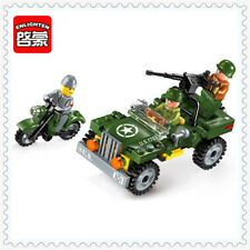 ENLIGHTEN 99Pcs Military War Soldiers Model Building Block 1703 Toys For Kids