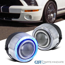 "4"" 7 Color Halo Projector Fog Lights Daytime Running Lamp w/ Switch"