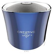Altavoces Creative Woof3 azul Bluetooth compacto