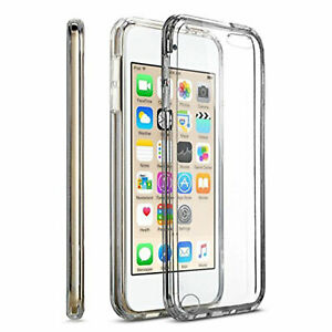 For iPod Touch 5th/6th/7th Gen Case Crystal CLEAR Shockproof Silicone TPU Cover