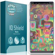 IQ Shield Anti-Glare Screen Protector for Galaxy Note 9 (Max Coverage)(2-Pack)
