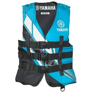 Yamaha Women's Yamaha Value Nylon 3-Buckle PFD Blue
