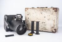 Graflex K20 Large Format Roll Film Aircraft Camera w 2 Spools Filter & Case V15