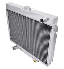"""1967-1969 Ford Fairlane Aluminum 2 Row 1"""" Tubes American Eagle Radiator"""