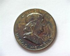 1962 FRANKLIN SILVER 50 CENTS NEAR PERFECT PROOF BETTER DATE THIS NICE!