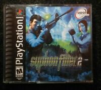 Syphon Filter 2 Ps1 Playstation 1 One TESTED Rare Sony 2cds