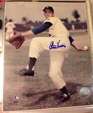 Clem Labine Autograph Photo