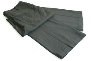 Worthington Womens Black Curvy Fit Pants Size 12 34 X 32  NWT  B25-3026