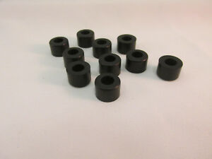 TYCO REAR SILICONE TIRES ~ 10 TIRES ~ NEW REPRODUCTIONS ~ FITS G+ ~ GREAT FIT