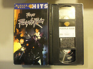 Vintage Prince Purple Rain VHS Video Movie Warner Bros WB Hits