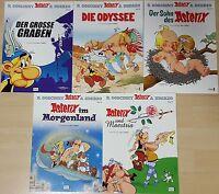 Comics Asterix & Obelix Sammlung Band 25,26,27,28,29,ungelesen/neuwertig 1A