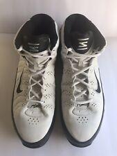 4eb1c3f19fc8 Mens Nike Shox Vintage Zoom Air Shoes Size 14 No 050608LN4 Black White High  Top