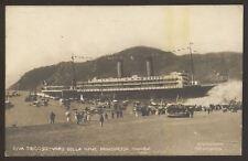 SS Principessa Jolanda Launch & Listing before Capsize - 2 1907 Photo Postcards