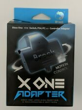 Brook X One Wireless Adapter + Battery use XBOX ONE Controller on Switch/PS4  V8