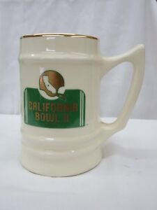 CALIFORNIA BOWL GAMEl II COLLECTOR'S PIECE _ Ceramic Stein 1982