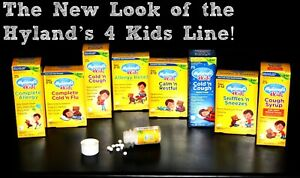 Hyland's Homeopathic Remedies for Kids 2+ for Flu/Sleep/Stomach - Original