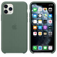 Apple iPhone 11 PRO Original Silikon Schutz Hülle Case 5,8″ Silicone Kieferngrün