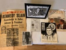 John F. Kennedy Autograph and Memorabilia