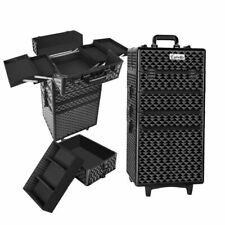 Embellir 7-In-1 Portable Makeup Trolley - Diamond Black