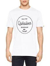Quiksilver Matin diapositives T-shirt 2018 Blanc XL Eqyzt04774-wbb0
