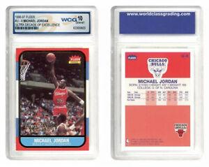 1996 Fleer Michael Jordan Ultra Decade Of Excellence Rookie #U-4 10 GEM-MT Bulls