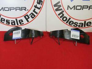 DODGE CHALLENGER Front Right&LEFT Retainer Bumper Bracket Support NEW OEM MOPAR
