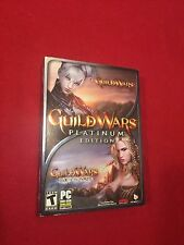 Guide Wars Platinum Edition PC Video Computer Game Rated T 2008