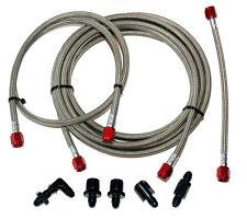 DevilsOwn agua metanol actualización de línea de acero inoxidable AEM Coolingmist