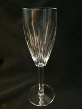 "WATERFORD CRYSTAL ""CARINA"" FLUTE CHAMPAGNE STEMWARE - 8 1/2"" - Mint"