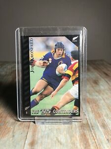 1995 All Blacks Josh Kronfield Trading Card