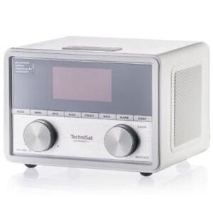TechniSat DIGITRADIO 80 Radiowecker DAB Digitalradio Timer OLED Display weiß OVP