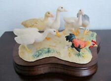 Fun Lowell Davis fig.-When Three Foot'S A Mile-Geese & Cockerel-Ltd Ed. of 950.