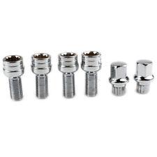 M14x1.5 Alloy Wheel Locking Nuts Security Lug Bolts (4+2)For AUDI A3 A4 VW SKODA