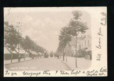 Middlesex CHISWICK High Rd street scene Trams 1903 u/b PPC