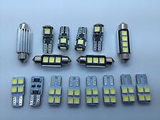 2008> AUDI A4 B8 AVANT RS4 S4 Sline LED Interior Lights 16 pcs SMD Bulbs White
