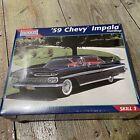 Monogram #2454 '59 Chevy Impala Hardtop 1:25 Scale Plastic Model Kit, Sealed photo