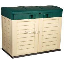 Cajas de almacenaje para el patio