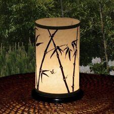 Handmade Shoji Bamboo Lantern Candle Holder - Touch The Earth Studio Black/White